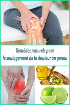 10 Remèdes naturels pour le soulagement de la douleur au genou et de l'enflure