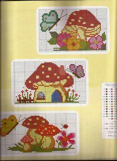 Cross Stitch House, Cross Stitch Charts, Cross Stitch Patterns, Plastic Canvas Coasters, Plastic Canvas Patterns, Butterfly Cross Stitch, Cross Stitch Flowers, Cross Stitch Animals, Perler Beads