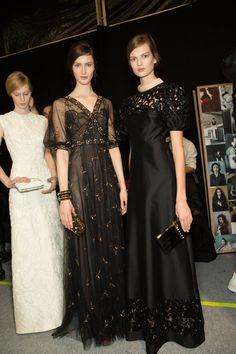 #Valentino Paris Fashion Week Spring 2013 #Backstage