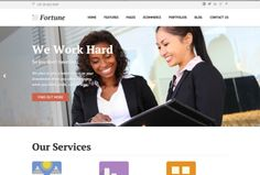 Fortune is a multi-purpose WordPress business theme