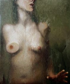 A nudez feminina, a intimidade, a água — na pintura hiperrealista da americana Alyssa Monks | Ricardo Setti - VEJA.com