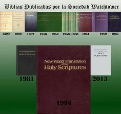 Bibles published by The Watchtower Society - how many do you remember? Where's the bright green complete, mid-60's? $1 a bible?
