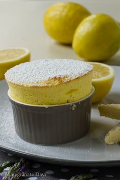 ... gives you lemons, I say make a pudding, in this case a Lemon Soufflé