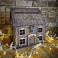 Envelope Box, Rustic Wedding, Cabin, House Styles, Outdoor Decor, Home Decor, Decoration Home, Room Decor, Cabins