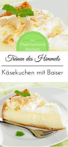 Tränen des Himmels Thermomix® Käsekuchen mit Baiser