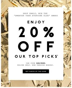 J Crew sale Email Marketing Design, Email Design, Ad Design, Layout Design, Content Marketing, Online Marketing, Sale Banner, Web Banner, J Crew Sale