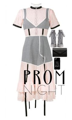 """""""The Perfect Prom Night"""" by saprivalova-1 ❤ liked on Polyvore featuring Sandy Liang, Zimmermann, Balenciaga and Casetify"""