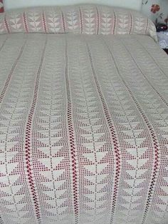 Bedspreads, Crochet Blanket Patterns, Crocheting, Blankets, Rugs, Decor, Crochet Blankets, Crochet Bedspread Pattern, Bedspread