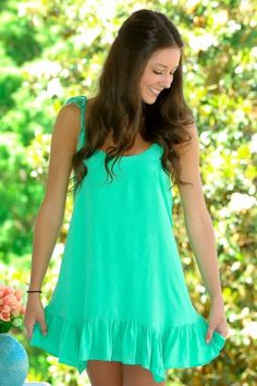 The Color Of Love Dress-Spring Green