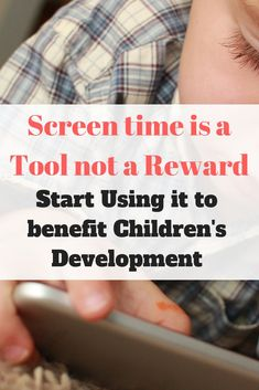 Screen Time for Kids can be too much to handle with rules, charts, and limiting screen time at different ages. Start using screen time as a tool in your house rather than a reward. Gentle Parenting, Parenting Advice, Screen Time For Kids, Stay At Home Dad, Parenting Toddlers, Child Development, Kids Learning, Charts, Handle