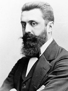 Theodor Herzl / Benjamin Ze'ev Herzl / Khozeh HaMedinah - a Jewish journalist and writer from Austria-Hungary. He is considered to have been the father of modern political Zionism and in effect the founder of the State of Israel. Herzl formed the World Zionist Organization and promoted Jewish migration to Palestine in an effort to form a Jewish state