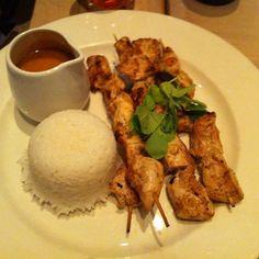 Satay chicken skewers.. Snack or main meal always yummy
