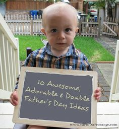Father's Day used to stress me out, that is, until I found Pinterest. Here are 10 amazing ideas sourced from Pinterest. Have fun! What are YOU planning for the DAD in your life?