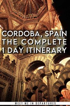 Seville to Cordoba Guide | Córdoba | Crodoba Travel Guide | Visiting Cordoba, Spain | Visit Cordoba| One day in Cordoba Itinerary | Day Trips From Seville | Southern Spain | Things to do in Cordoba | What to see in Cordoba | Two Days in Cordoba | Cordoba Aesthetic | Cordoba Mosque | Great Mosque of Cordoba | Mezquita de Cordoba | Mosque-Cathedral Cordoba | Patios de Cordoba | Cordoba Alcazar | #Spain #Cordoba #Andalucia Portugal Travel, Spain And Portugal, Spain Travel, France Travel, Europe Travel Guide, Travel Guides, Travel Destinations, Cordoba Spain, Travel Reviews