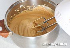 The simplest and best caramel cream prepared in a few minutes - Desserts - Peanut Butter Köstliche Desserts, Sweet Desserts, Dessert Recipes, Beste Desserts, Desserts Caramel, Cake Fillings, Peanut Butter Recipes, Easy Cake Recipes, Cream Recipes