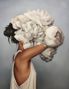 Amy Judd: Surreal Oil Paintings Women Paintings - # Woman # S . - Zeichnung - Pictures on Wall ideas Art Mural, Wall Art, Wall Decal, Affordable Art Fair, Illustration Mode, Woman Painting, Wall Canvas, Abstract Canvas, Art Pictures