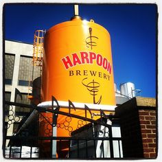 Harpoon Brewery & Beer Hall in Boston, MA. Fun tours and beer hall in South Boston.