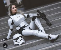 Hendoart as First Order Stormtrooper
