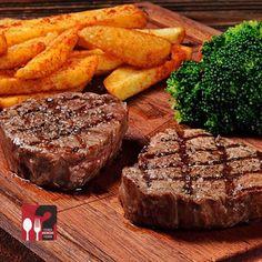 Dana Bonfile - Beeves Burger Erenköy / İstanbul   Çalışma Saatleri / 12:00-22:30 ☎ 0 216 478 16 16  220 gr. Dry Age Steak, sebze ve ev yapımı kızarmış patates ile...