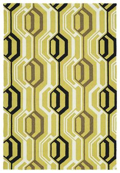 Escape ESC08-05 Gold Indoor/Outdoor Rug  #fab #rugs #homedecor #diy #myhome #decor #interiorstyling #classy #homedesign #trendy