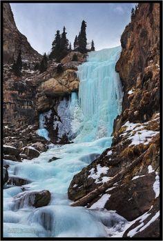 Barskoon Gorge Waterfall, Kyrgyzstan