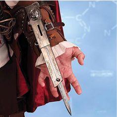 Arma Assassin's Creed II. Cuchillo de antebrazo