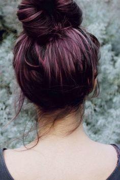 Violet hair with streaks. Repinned from Vital Outburst clothing vitaloutburst.com