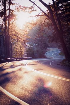 0rient-express:  The Winding Road Home | by James Unkov.  http://this-is-carolina.tumblr.com/