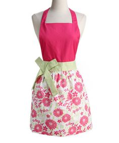 Take a look at this Pink Pout Daisy Apron by Design Imports on #zulily today! $18.99, regular 28.00