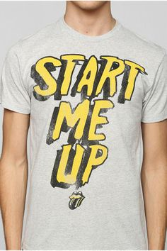 Rolling Stones Start Me Up Tee #urbanoutfitters