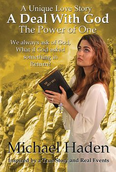 A deal with God-The Power Of One by Michael Haden. A young woman dies and asks God if she can come back. He agrees if she will move to rural Ga. to help a motherless family. She agrees and ends up falling in love with the father and part of the ending of the book is a beautiful wedding.