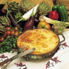 Greek Moussaka  Many restaurants and individuals ruin Moussaka because they don't follow the recipe for it or they put strange things in it like potato's or etc. Real true Greek Moussaka is made with thin slices of egg plant , finely diced or ground...
