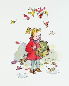 Ideas for children illustration art quentin blake Quentin Blake Illustrations, Illustrations And Posters, Art And Illustration, Roald Dahl Characters, Chris Riddell, Children's Picture Books, Colorful Drawings, Drawing For Kids, Book Art