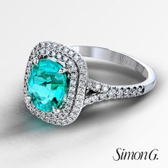 Paraiba Tourmaline Engagement Rings For Your Something Blue Simong