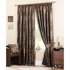 Looking for extra wide curtains? Check out these Winchester Ready Made Curtains Chocolate. Ready Made Eyelet Curtains, Cute Curtains, Lined Curtains, Extra Wide Curtains, Chocolate Line, Curtain Store, Made To Measure Curtains, Drapery, Winchester