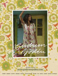 Gudrun Sjödén Catalogue - May extra 2013