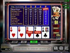 Get a $100 no deposit bonus at Wild Vegas to play Jacks or Better Video Poker http://www.usvideopoker.com/jacks-or-better-wild-vegas-video-poker.htm     But we also have a full pay Jacks or Better 9/6 game with another $100 $100 no deposit bonus at http://www.casino-online-promotion.com/Slots-of-Vegas-100free.htm    Jacks or Better here pays 800-50-...