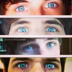 .ian hecox's eyes (smosh)