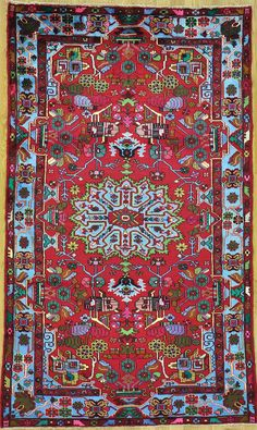 "Nahavand Persian Rug 4' 9"" x 8' 0"" Nahavand, Authentic Nahavand Handmade Rug"