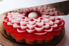 Strawberry cake of soap