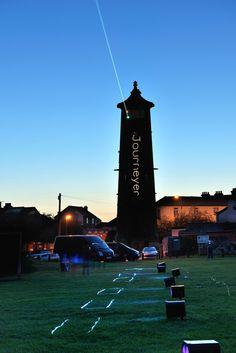 Journeyer | Harwich | Essex Outdoor Laser Installation Artwork.