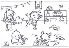 Drawing For Kids, Good Company, Coloring Pages, Kindergarten, Snoopy, Teaching, Comics, Drawings, Fictional Characters