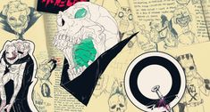 Boneface's art turns your childhood into a brutal, bloody mess | The Verge