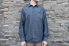 Vissla Faux Denim Buttonup! Denim Button Up, Button Up Shirts, Mens Trends, Rip Curl, Billabong, A Good Man, Boyfriends, Brand New, Guys