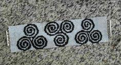 Celtic Triskele Bracelet | niaroo - Jewelry on ArtFire