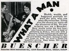 Buescher Sax: WHAT A MAN. | Modern Mechanix