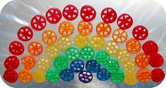 Pasta Rainbow kids' craft