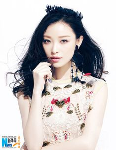 Chinese actress Ni Ni  http://www.chinaentertainmentnews.com/2015/12/ni-ni-covers-fashion-magazine.html
