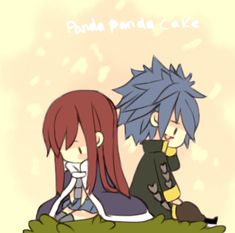 jellal fernandes and erza scarlet - Google Search