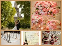 paris wedding theme